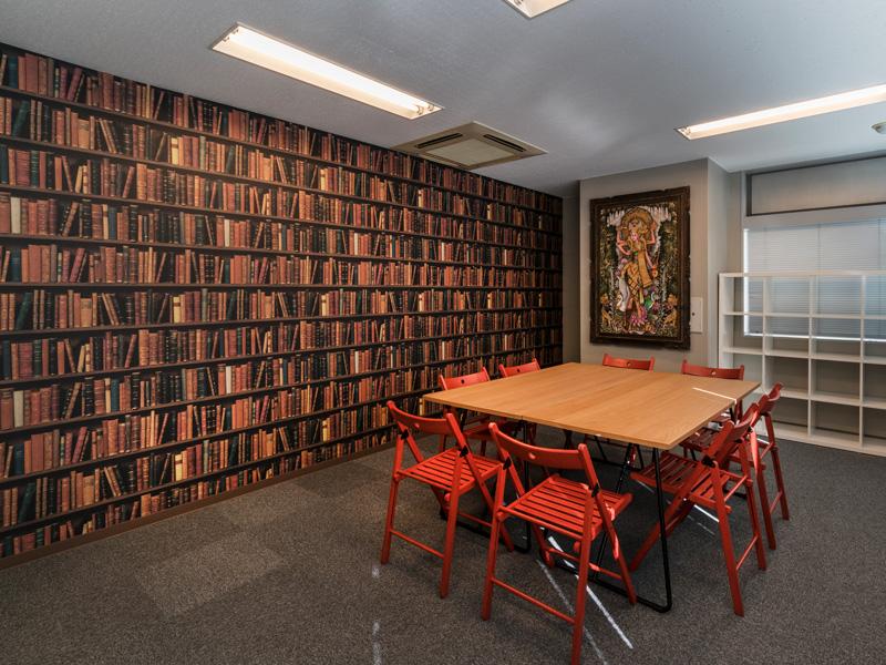 Library個人個人が自分の近い将来像を自ら考え育む場所